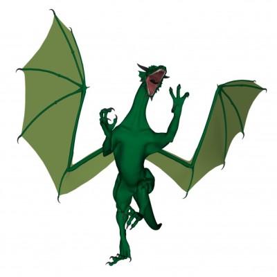 Random Green Dragon image